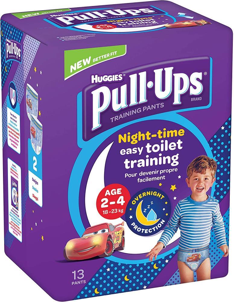 Huggies Pull-Ups Boys Night Time Potty Training Pants 2-4 Years 18-23 kg