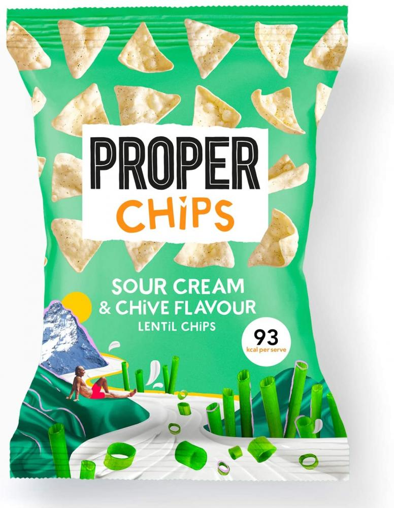 Properchips Sour Cream And Chive Flavour 85 g