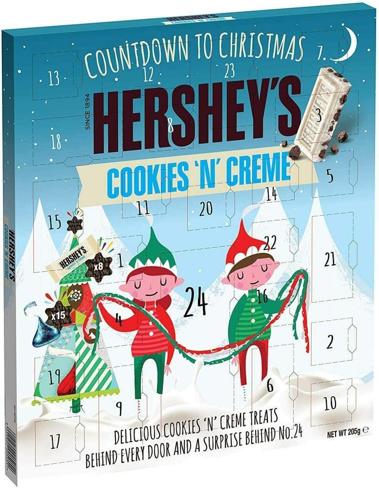 Hersheys Cookies n Cream Advent Calendar 205 g