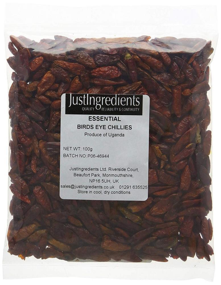 JustIngredients Essentials Birds Eye Chillies 100g