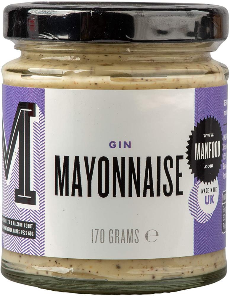 SALE  Manfood Gin Mayonnaise 170g