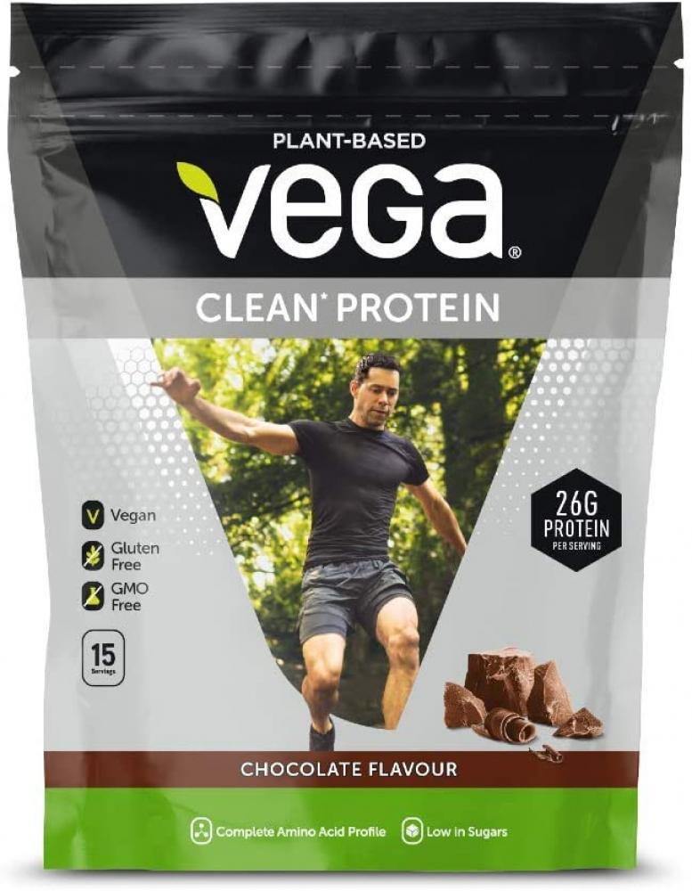 Vega Clean Protein Plant Based Protein Powder Chocolate Flavour 555g