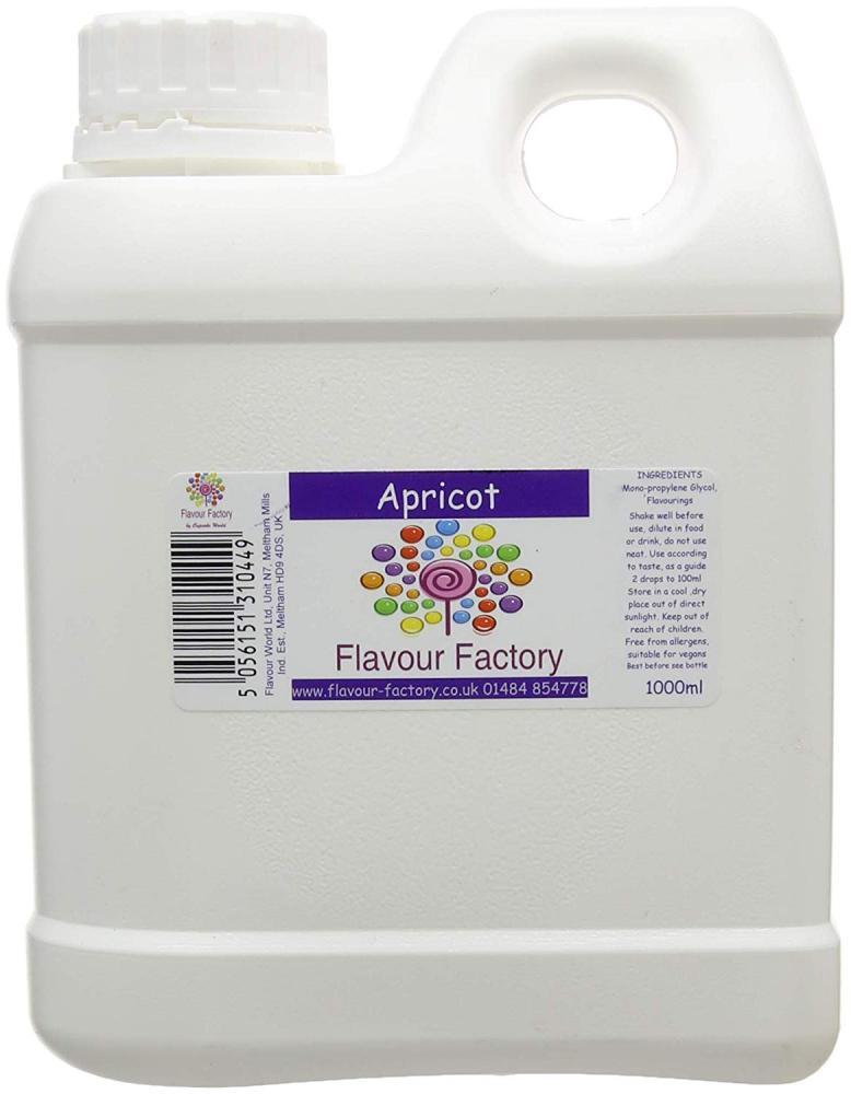 Flavour Factory Apricot 1L