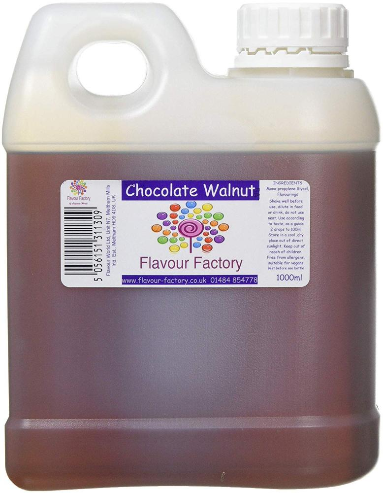 Flavour Factory Chocolate Walnut 1L