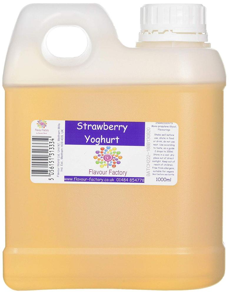 Flavour Factory Strawberry Yoghurt 1000ml