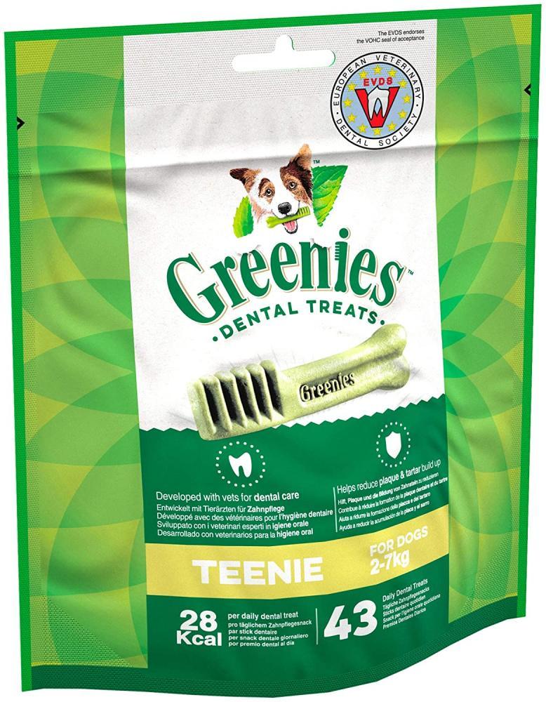 SALE  Greenies Daily Original Teenie Dog Treats From 2-7 kg 340g
