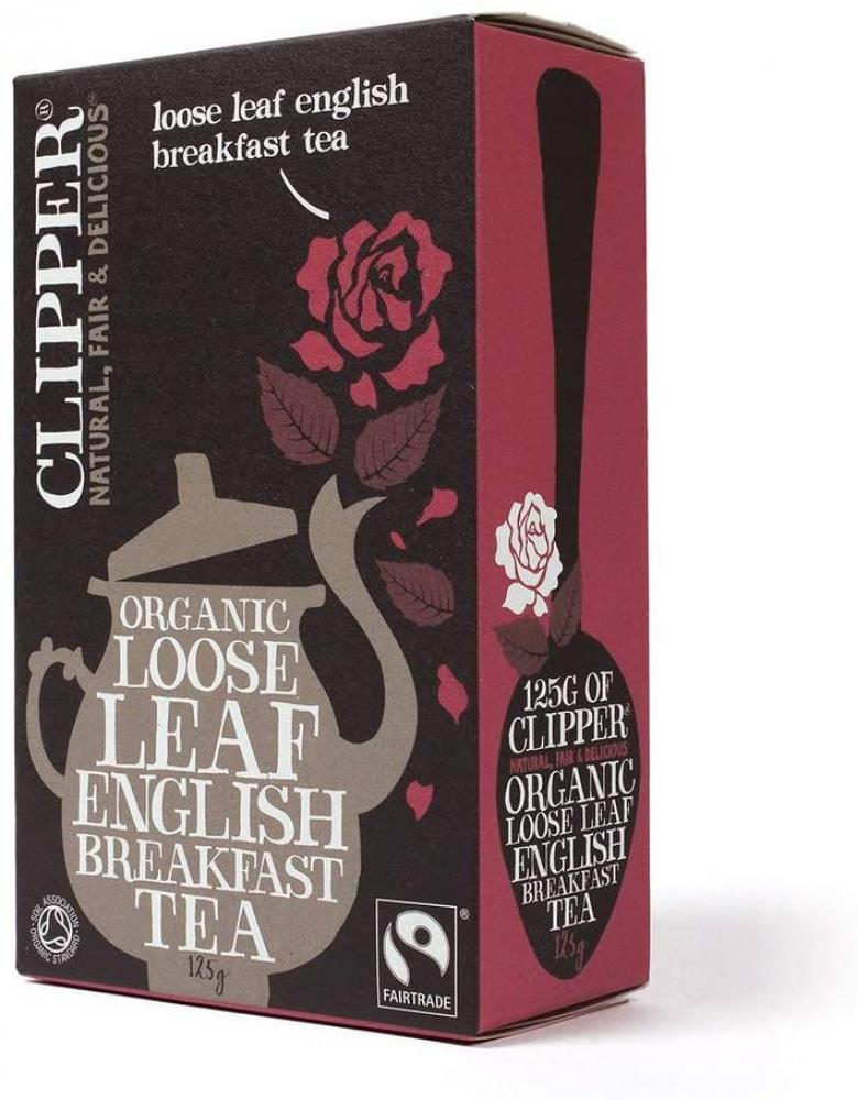 Clipper Fairtrade Organic Loose Leaf English Breakfast Tea 125 g