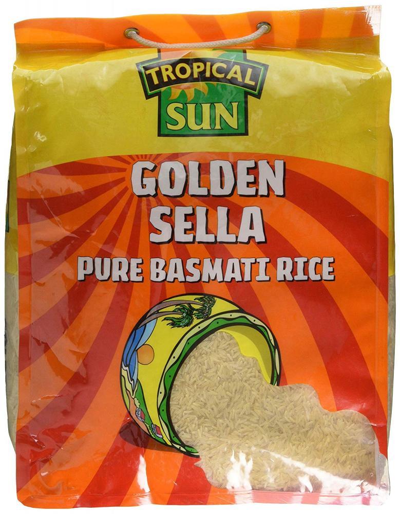 Tropical Sun Golden Sella Rice 10 kg