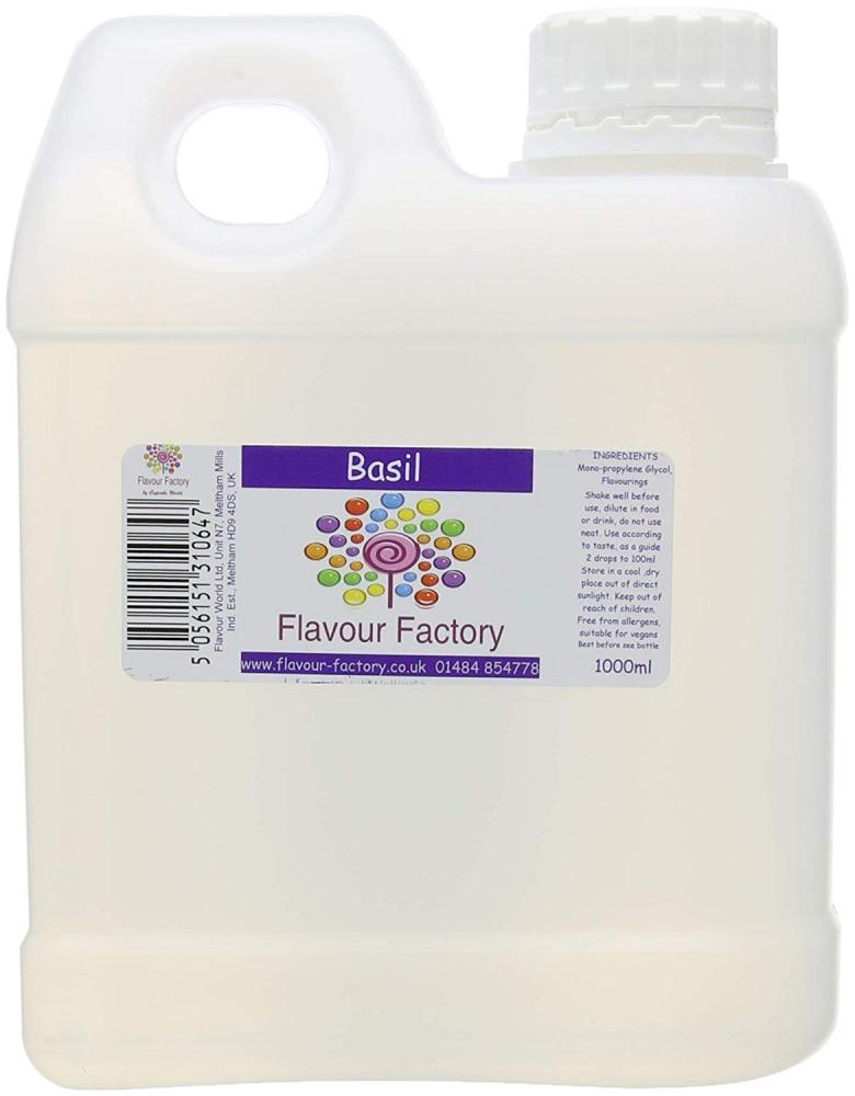 Flavour Factory Basil 1L