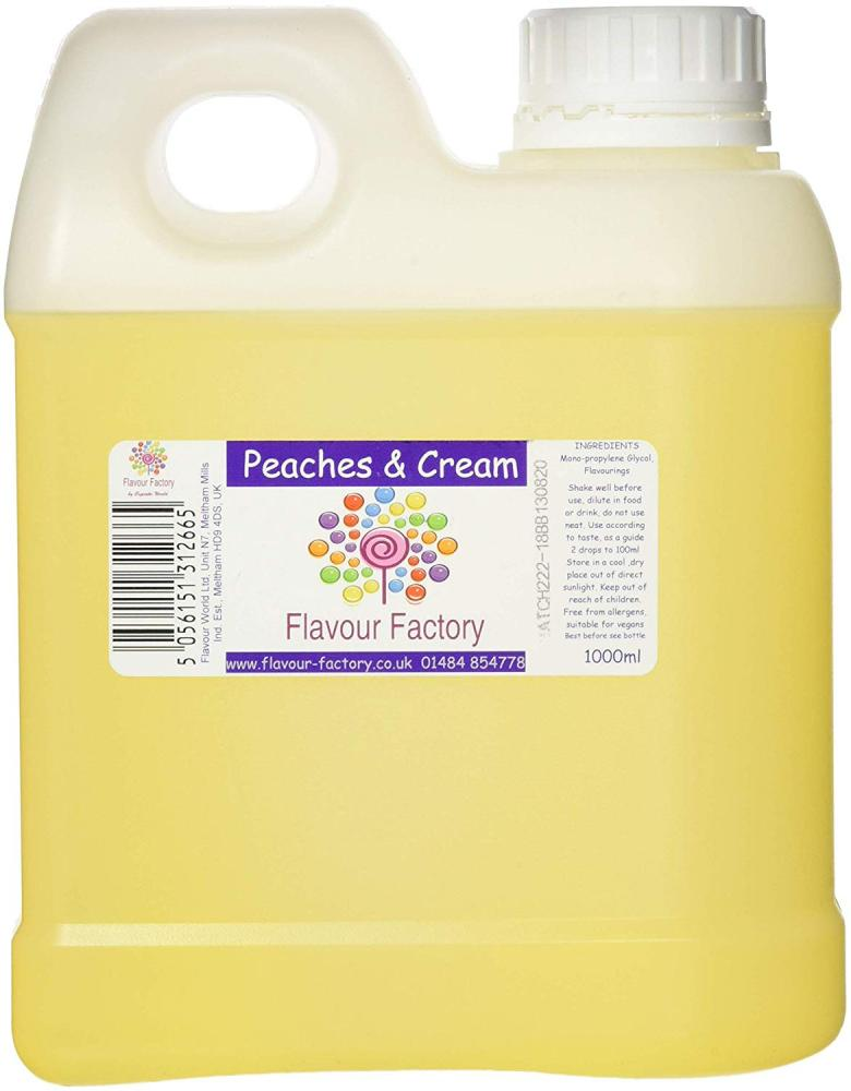 Flavour Factory Peaches and Cream 1L
