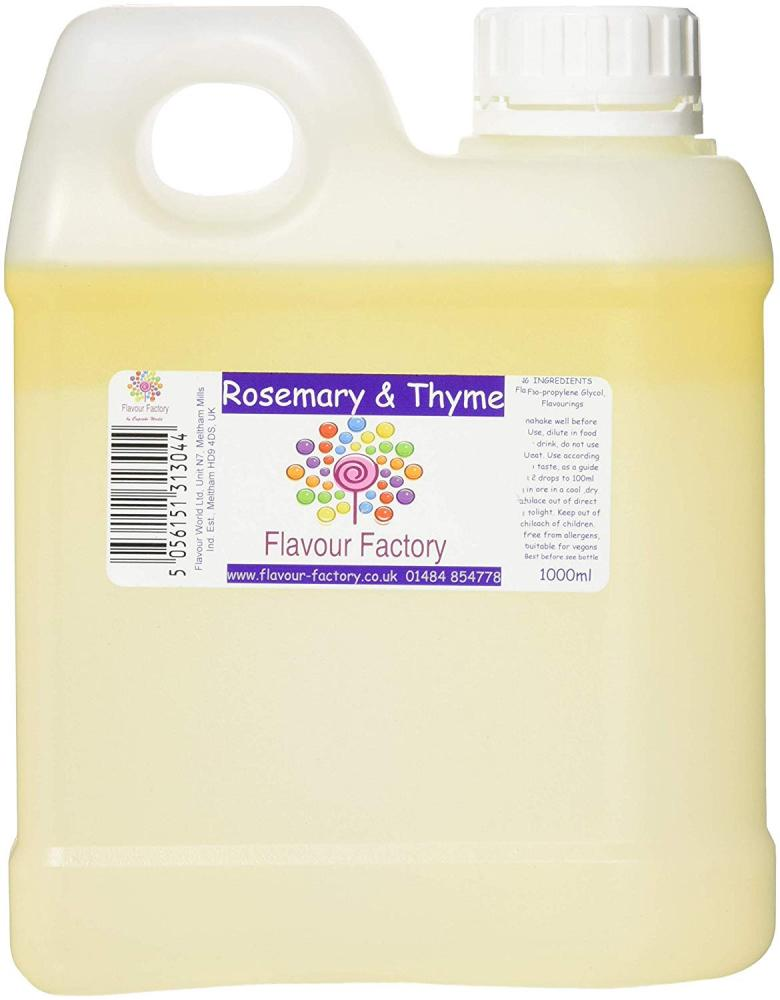 Flavour Factory Rosemary and Thyme 1L