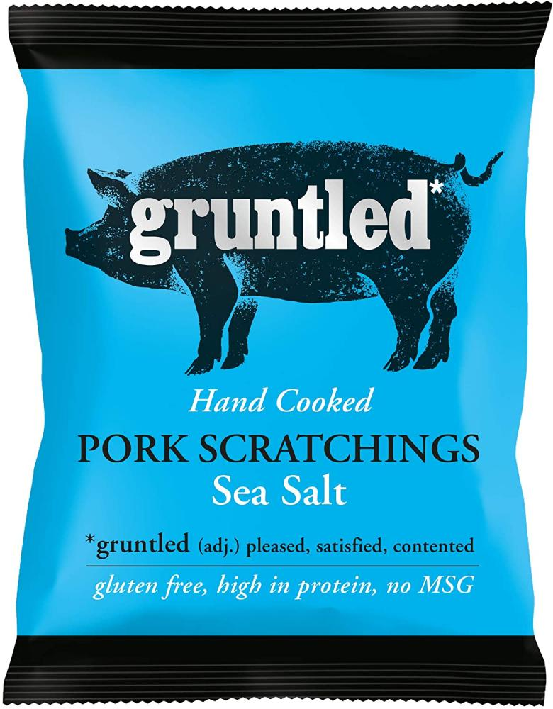 Gruntled Premium Pork Scratchings 50g