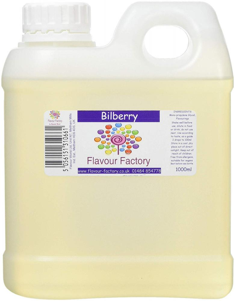 Flavour Factory Bilberry 1L