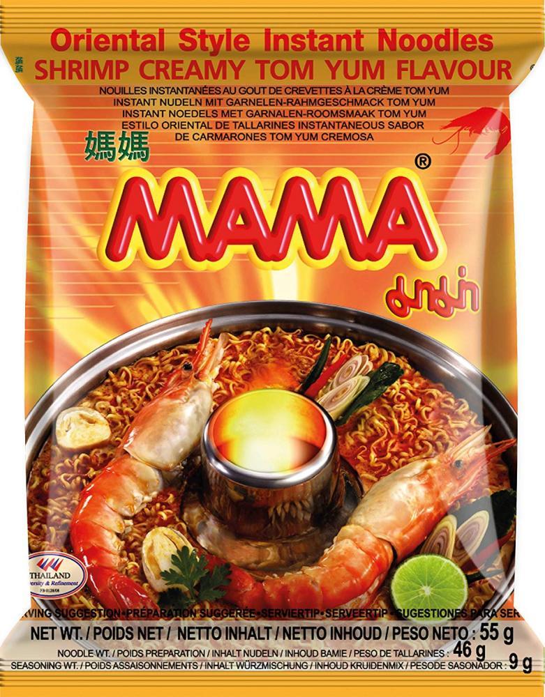 Mama Instant Noodle Creamy Tom Yum 55g
