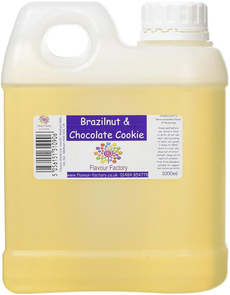 Flavour Factory Brazilnut and Chocolate 1L