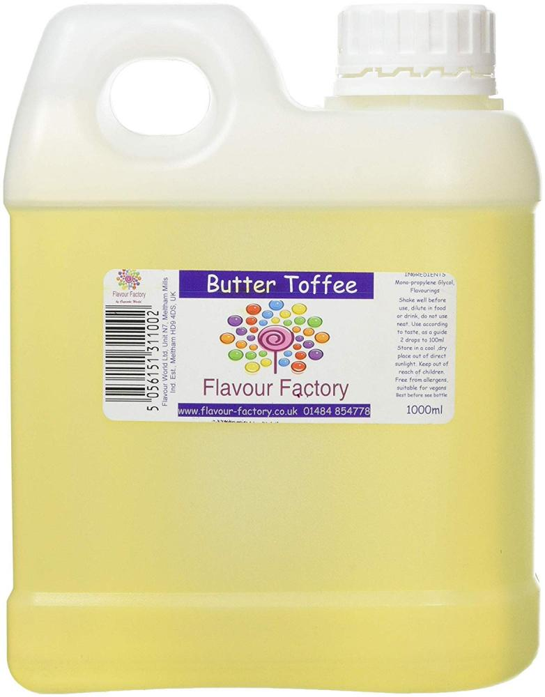 Flavour Factory Butter Toffee 1L