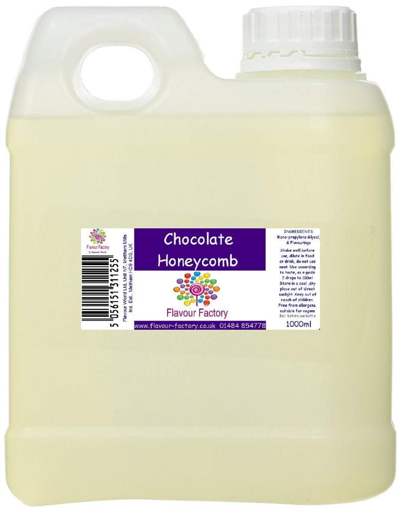 Flavour Factory Chocolate Honeycomb 1L