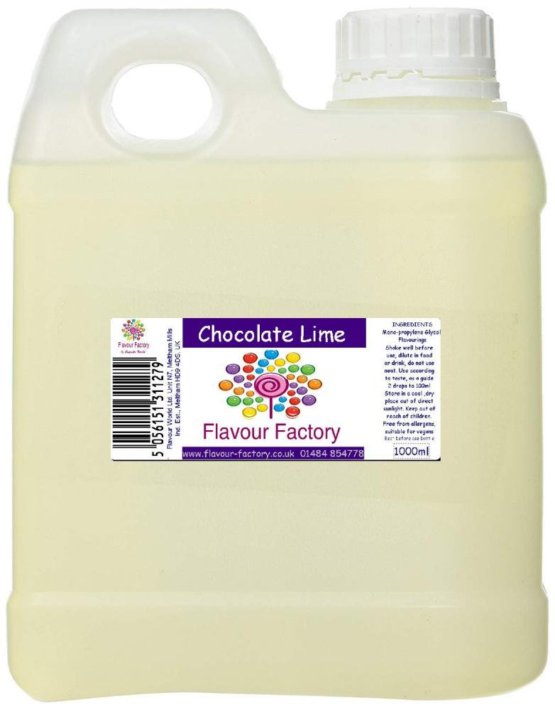 Flavour Factory Chocolate Lime 1L
