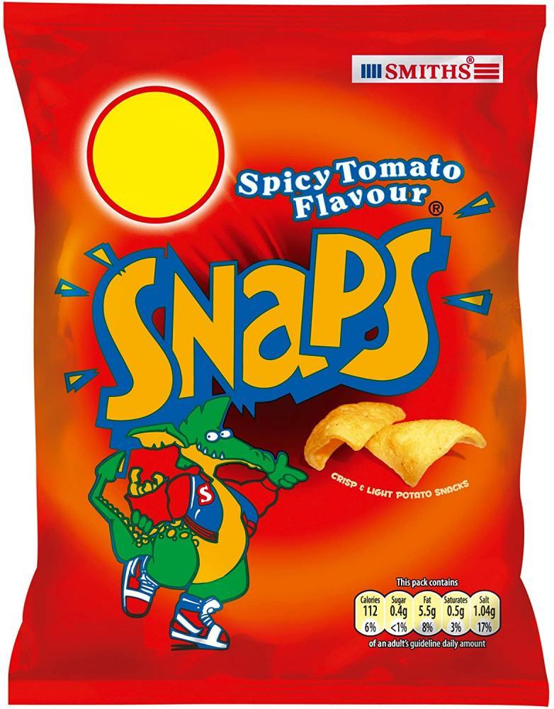 Smiths Snaps Tomato Flavour 21g