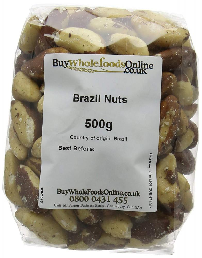 Buy Whole Foods Brazil Nuts Whole 500g