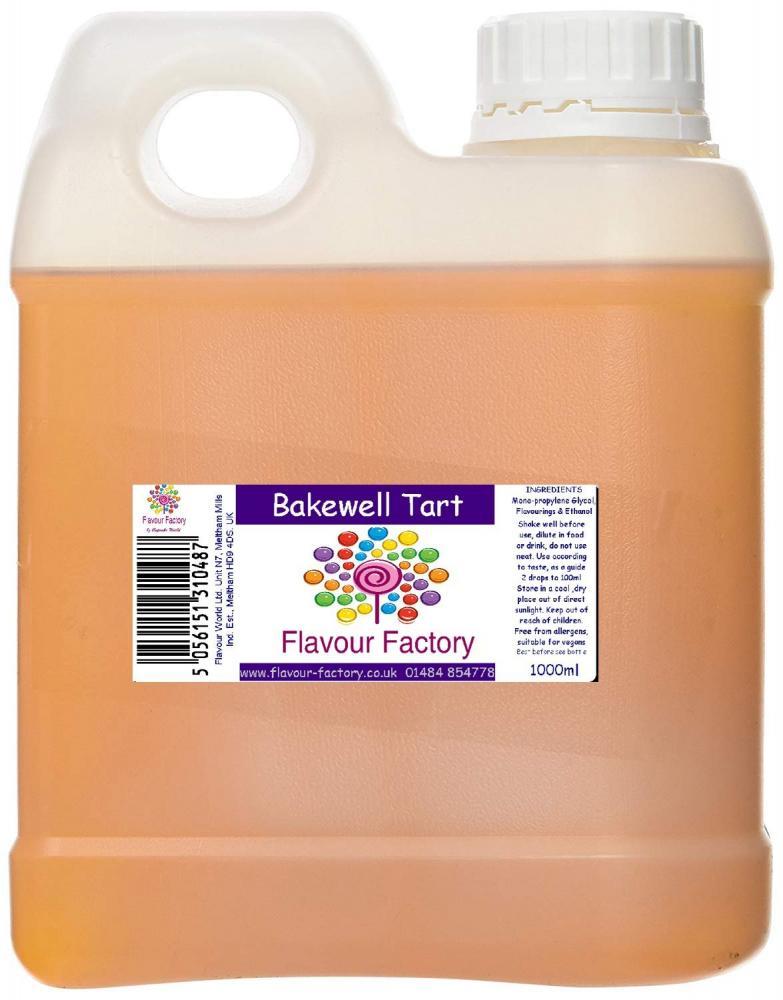 Flavour Factory Bakewell Tart 1L