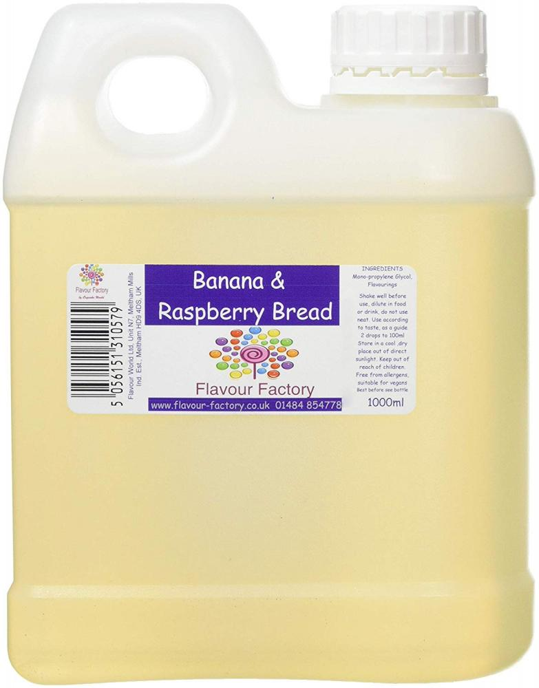 SALE  Flavour Factory Banana and Raspberry Bread 1L