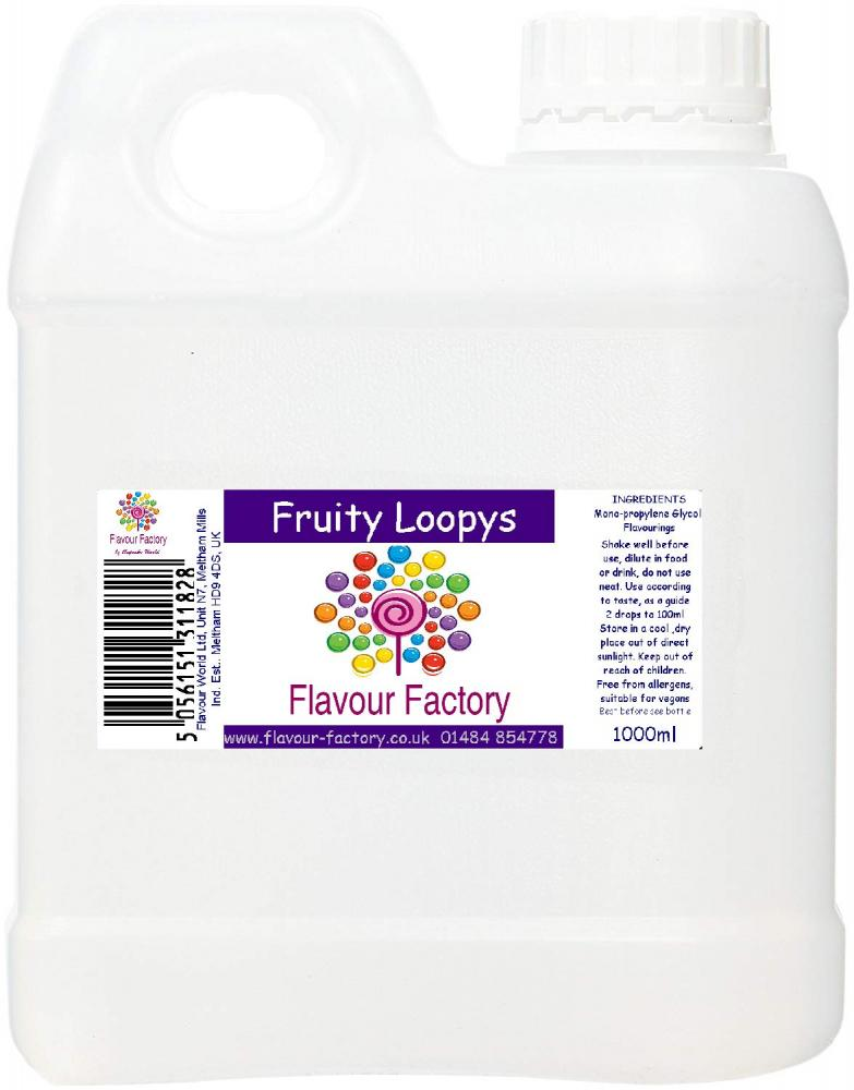 Flavour Factory Fruity Loopys 1L