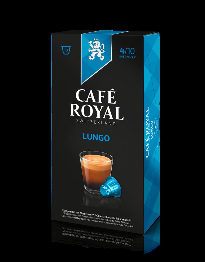 Cafe Royal Nespresso Compatible Lungo Caffee Pods 53g