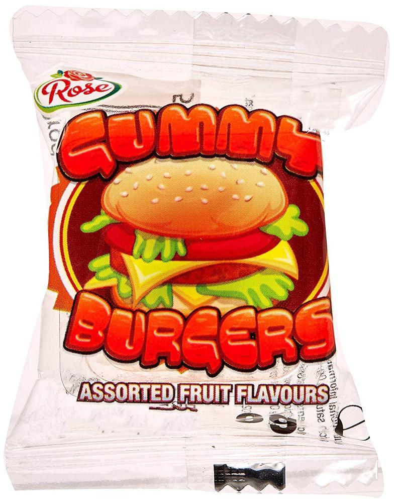 Rose Gummy Burgers 8g