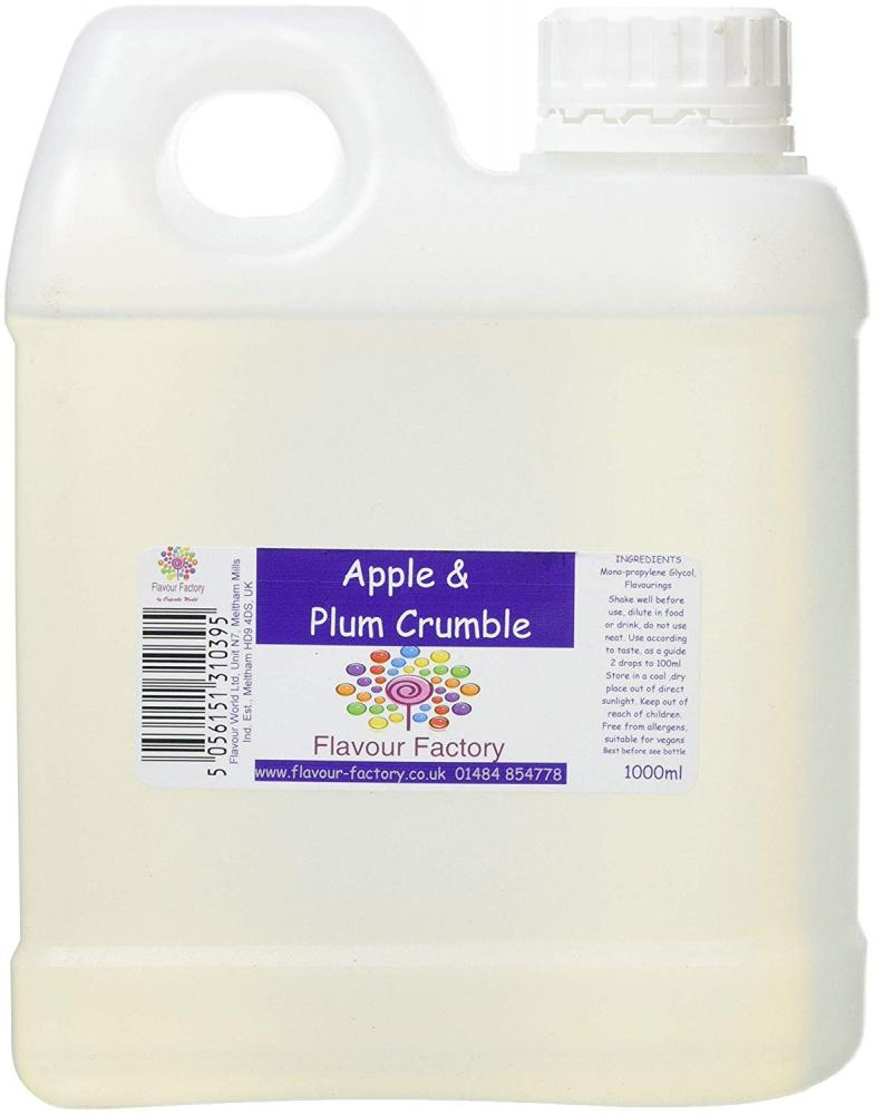 Flavour Factory Apple and Plum Crumble 1L