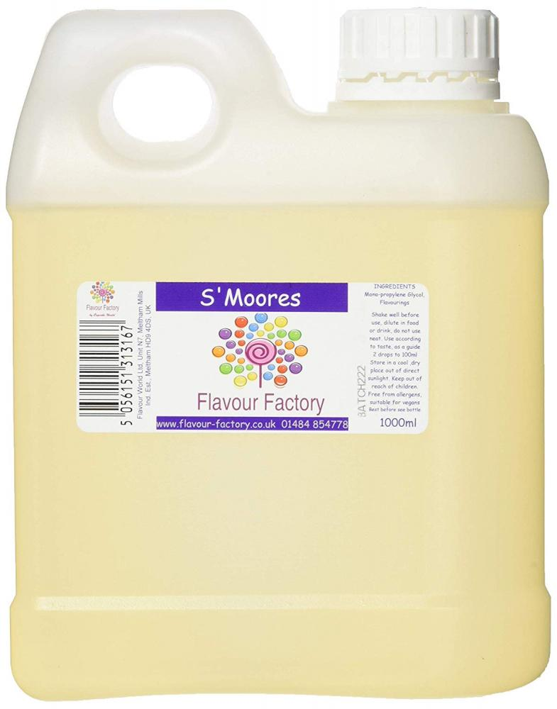 Flavour Factory Intense Food Flavouring SMoores 1000 ml
