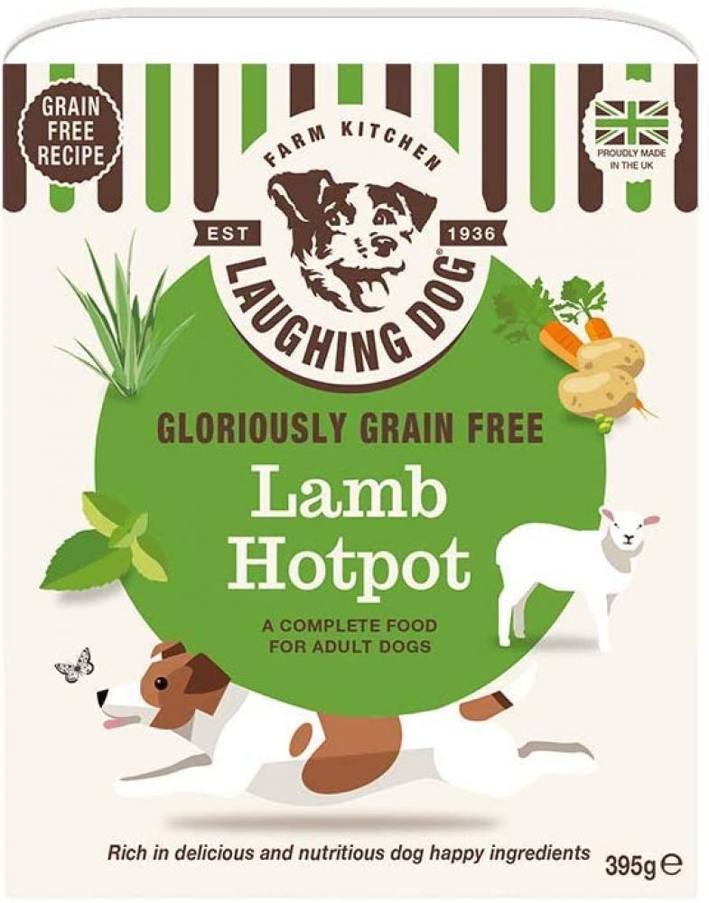 Laughing Dog Gloriously Grain Free Lamb Hotpot Grain and Wheat Free Wet Dog Food 395 g