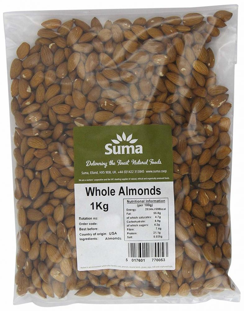 Suma Whole Almonds 1kg