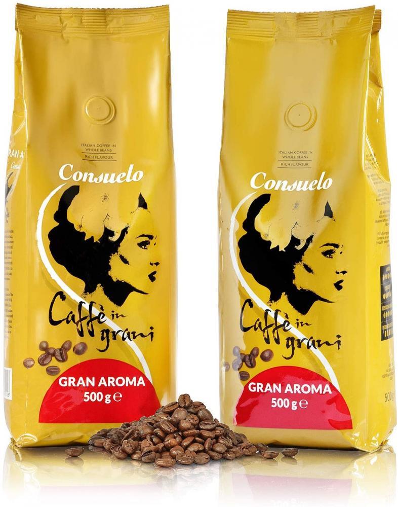 Consuelo Italian Coffee in Whole Beans 500g
