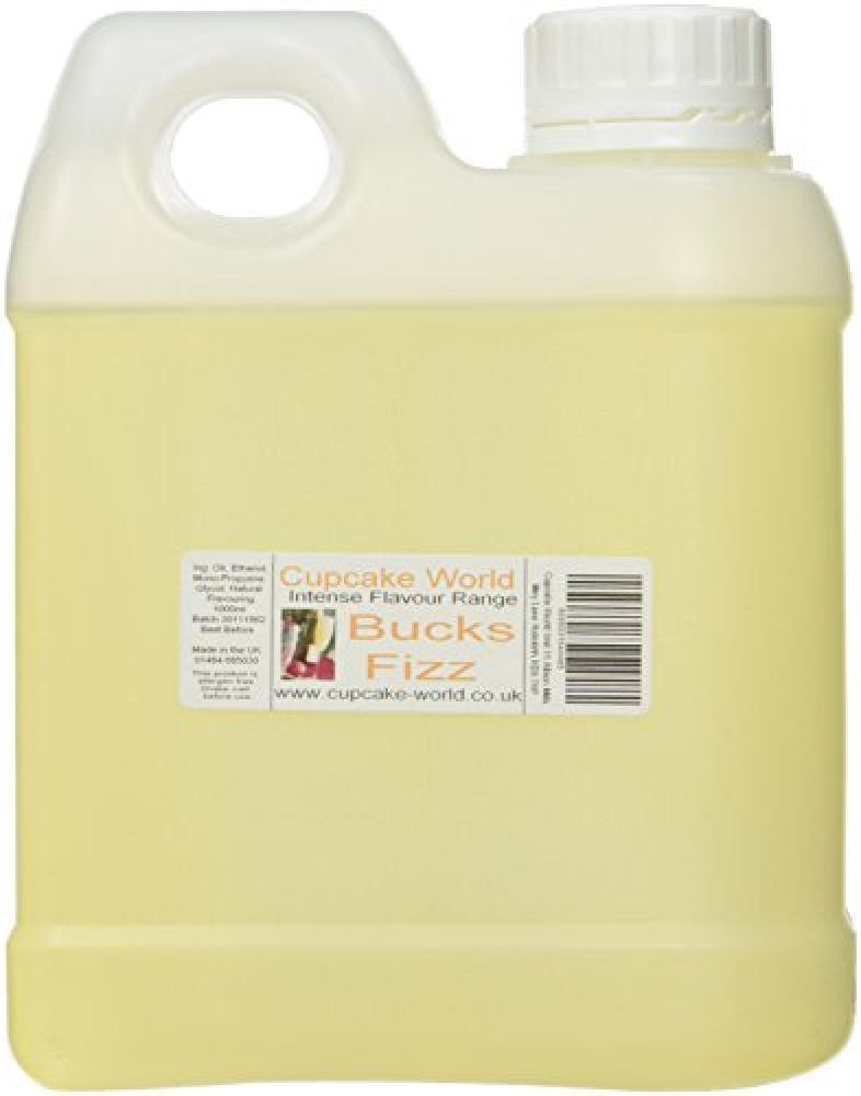 SALE  Cupcake World Bucks Fizz Intense Food Flavouring 1000 ml
