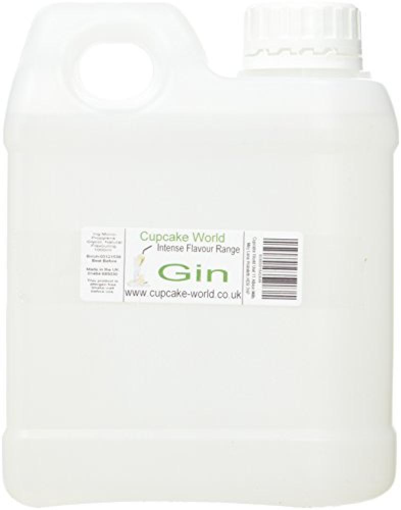 SKIP  Cupcake World Gin Intense Food Flavouring 1000 ml