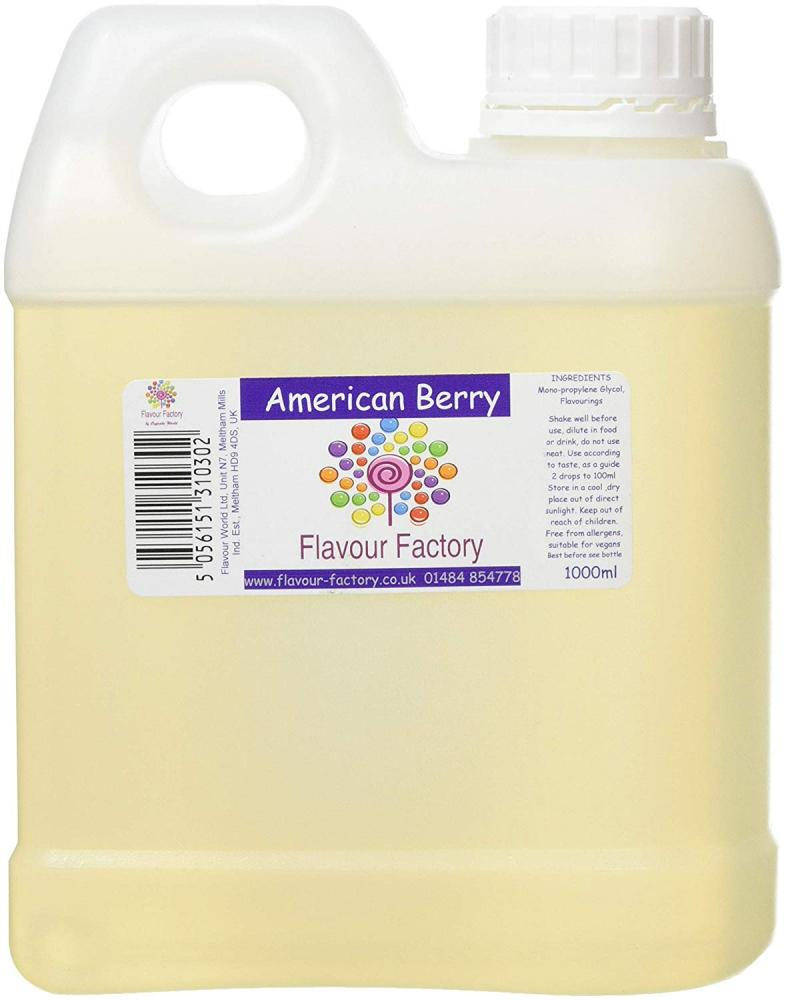 Flavour Factory American Berry 1L