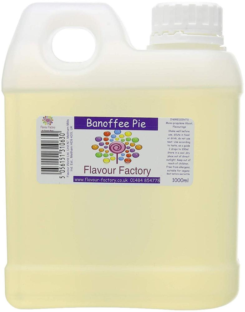 Flavour Factory Banoffee Pie 1L