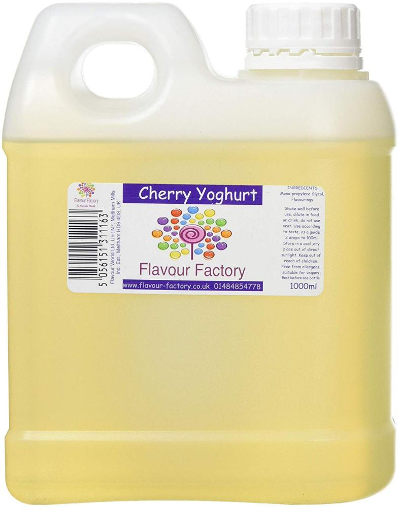 Flavour Factory Cherry Yoghurt 1L