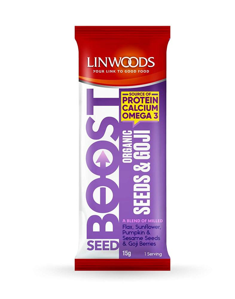 Linwoods Seed Boost Organic Seeds and Goji 15g