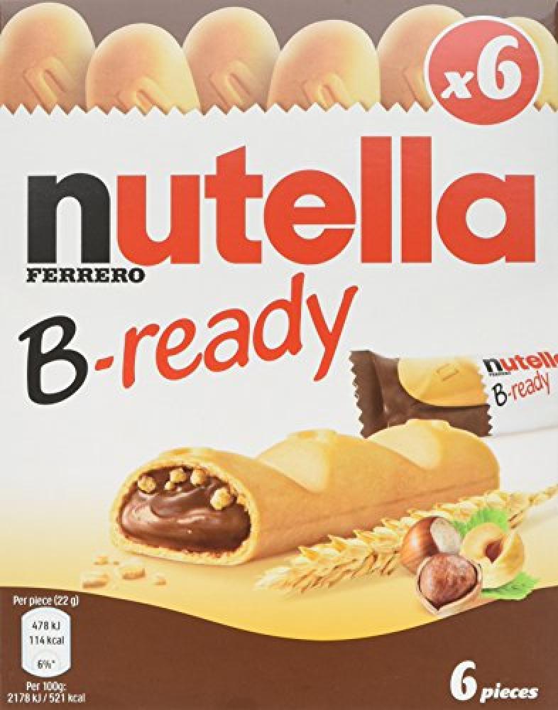 Nutella B Ready 6 x 22g