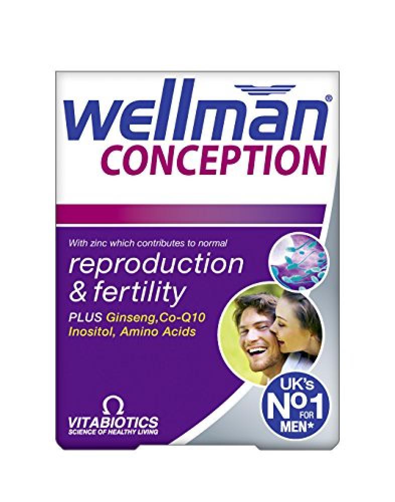 Wellman Vitabiotics Conception 30 Tablets
