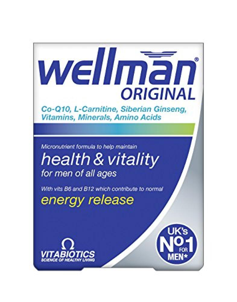 Wellman Vitabiotics Original - 30 Tablets Damaged Box
