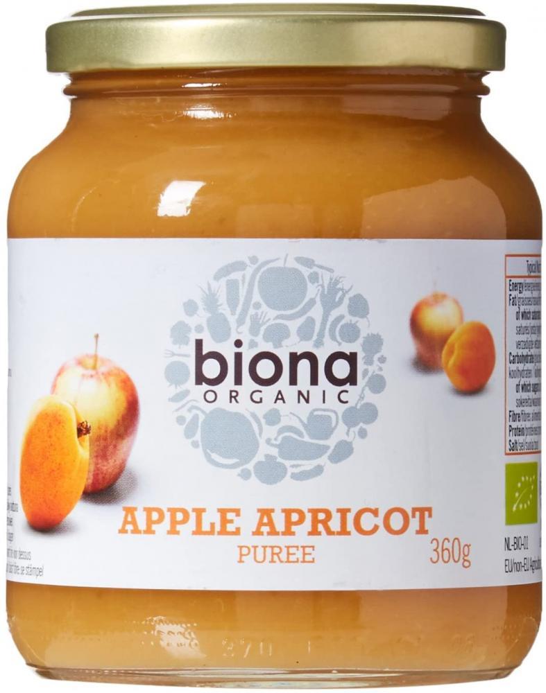Biona Organic Apple and Apricot Puree 360g
