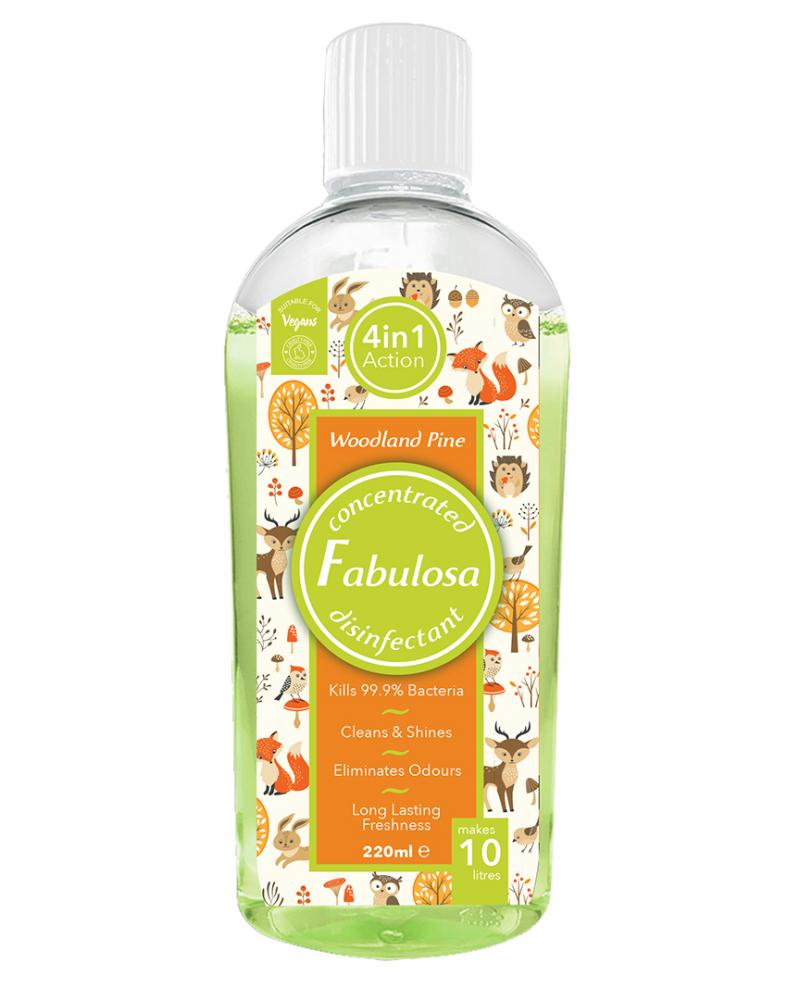 Fabulosa Woodland Pine Concentrated Disinfectant 200ml