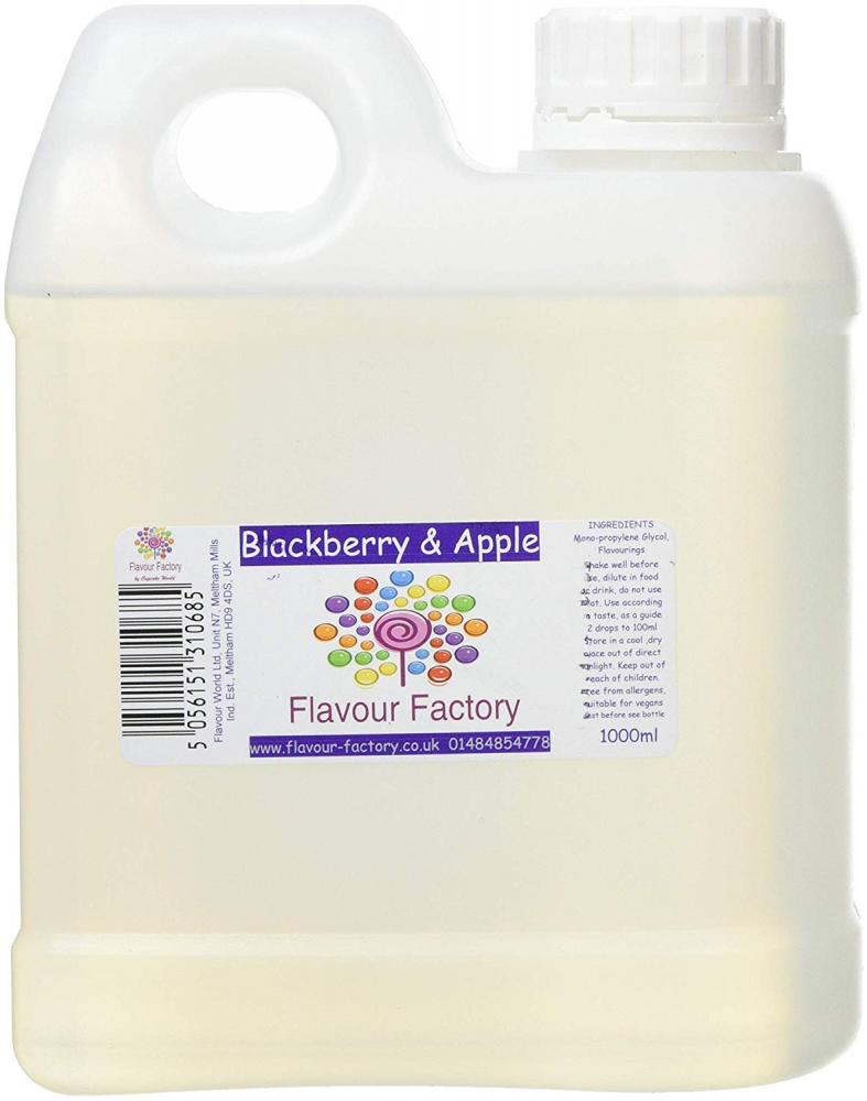 Flavour Factory Blackberry and Apple 1L
