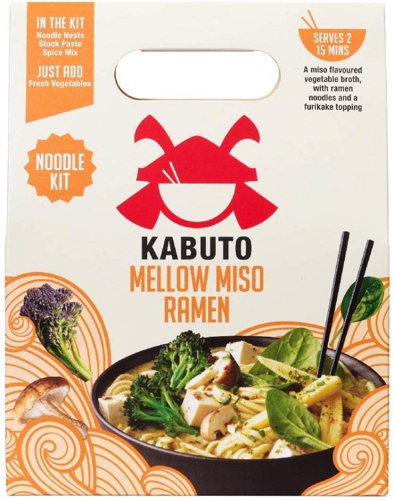 Kabuto Mellow Miso Ramen Noodle Meal Kit 150g
