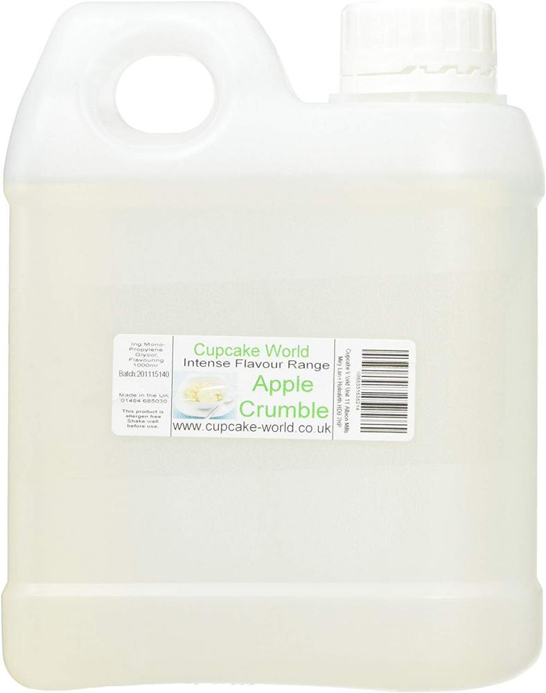 Cupcake World World Apple Crumble Intense Food Flavouring 1000 ml
