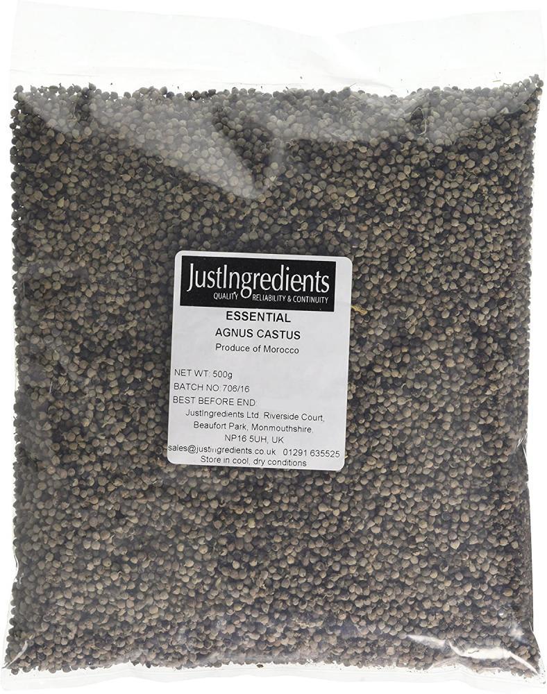 JustIngredients Essentials Agnus Castus Berries 500 g