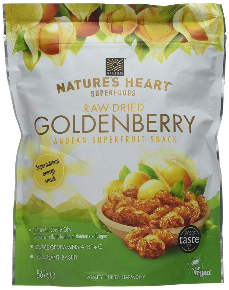 Terrafertil Natures Heart Raw Dried Goldenberry 567g